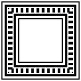 Trame géométrique Image libre de droits