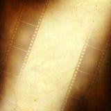 Trame grunge effectuée à partir de la bande de film de photo Photos libres de droits