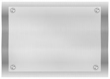 Trame métallique Image stock