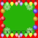 Trame magique bleue de Noël Image stock