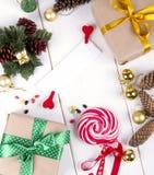Trame magique bleue de Noël Photos libres de droits