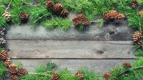 Trame magique bleue de Noël Photo libre de droits