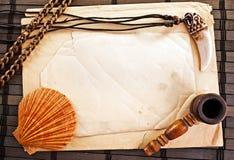 Trame marine. Photos libres de droits