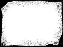 Trame noire grunge Photos libres de droits