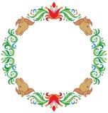 Trame ronde décorative Image libre de droits
