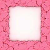 Trame rose Images libres de droits