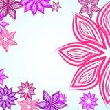 Trame rose de fleur Photographie stock libre de droits