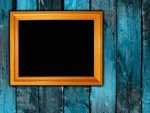 Trame vide sur le mur Image stock