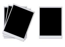 Trames blanc de photo Photos stock