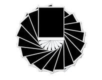 Trames blanc de photo Photos libres de droits