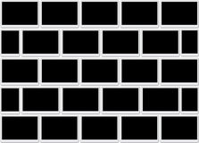 Trames blanc de photo Photo libre de droits