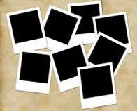 Trames blanc de photo Photographie stock