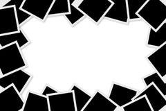 Trames blanc de photo Images libres de droits