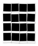 Trames d'appareil-photo instantané Image stock