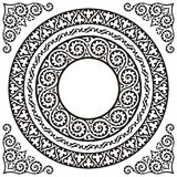 Trames de cercle Images stock