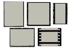 Trames de film Images libres de droits