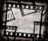 Trames de film grunges Image libre de droits