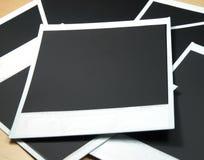 Trames de film instantanées Photographie stock