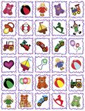 Trames de jouet Photographie stock libre de droits
