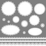 Trames de lacet illustration stock