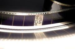 Trames de négatif sur film Images libres de droits