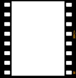 trames de trame de bande de film de 35mm Photos libres de droits