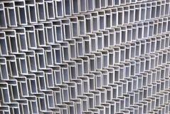 Trames en aluminium images stock