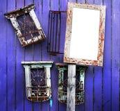 Trames en bois Photographie stock libre de droits