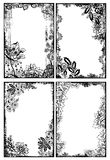 Trames florales de Bohème illustration libre de droits