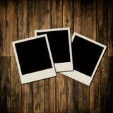 Trames instantanées blanc de photo Photographie stock libre de droits