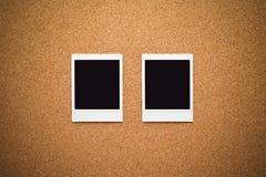 Trames instantanées blanc de photo Photos libres de droits
