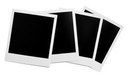 Trames instantanées blanc de photo Images libres de droits