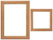 trames réglées en bois photos stock