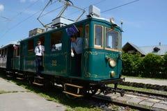 Tramkomet Kometa ritt in das hohe Tatras seit 1922 stockfotos