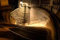 Tramo escaleras Imagenes de archivo