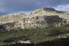 Tramontana Mountains near Lluc; Majorca. Spain stock photos