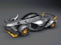 Tramontanar supercar concept royalty-vrije stock afbeeldingen