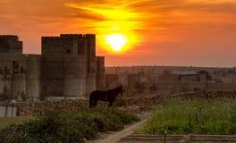 tramonti Fotografie Stock