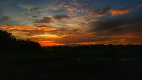 tramonti Fotografie Stock Libere da Diritti