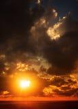 tramonti Immagini Stock
