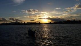tramonti in Banda Aceh Fotografia Stock Libera da Diritti