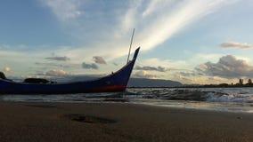 tramonti in Banda Aceh Immagine Stock