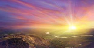 tramonto fotografia stock libera da diritti