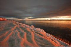 ? tramonto Fotografia Stock Libera da Diritti
