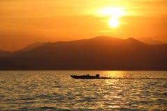 tramonto 库存照片