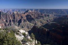 Tramonto 3 del grande canyon Fotografie Stock