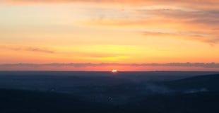 tramonto стоковое изображение rf
