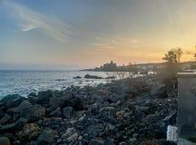 tramonto Стоковое фото RF