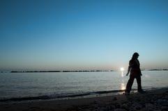 tramonto Immagine Stock Libera da Diritti