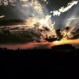 tramonto Zdjęcie Royalty Free